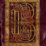 Purple and gold psalter
