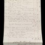 Oscar Wilde's bill and summons