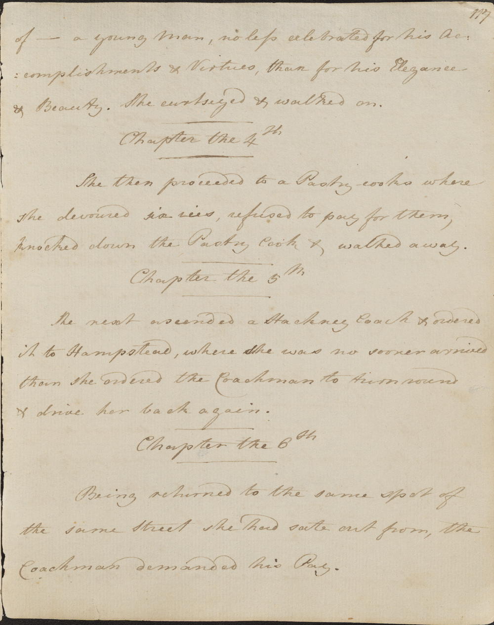 Jane Austen 'Volume the First'