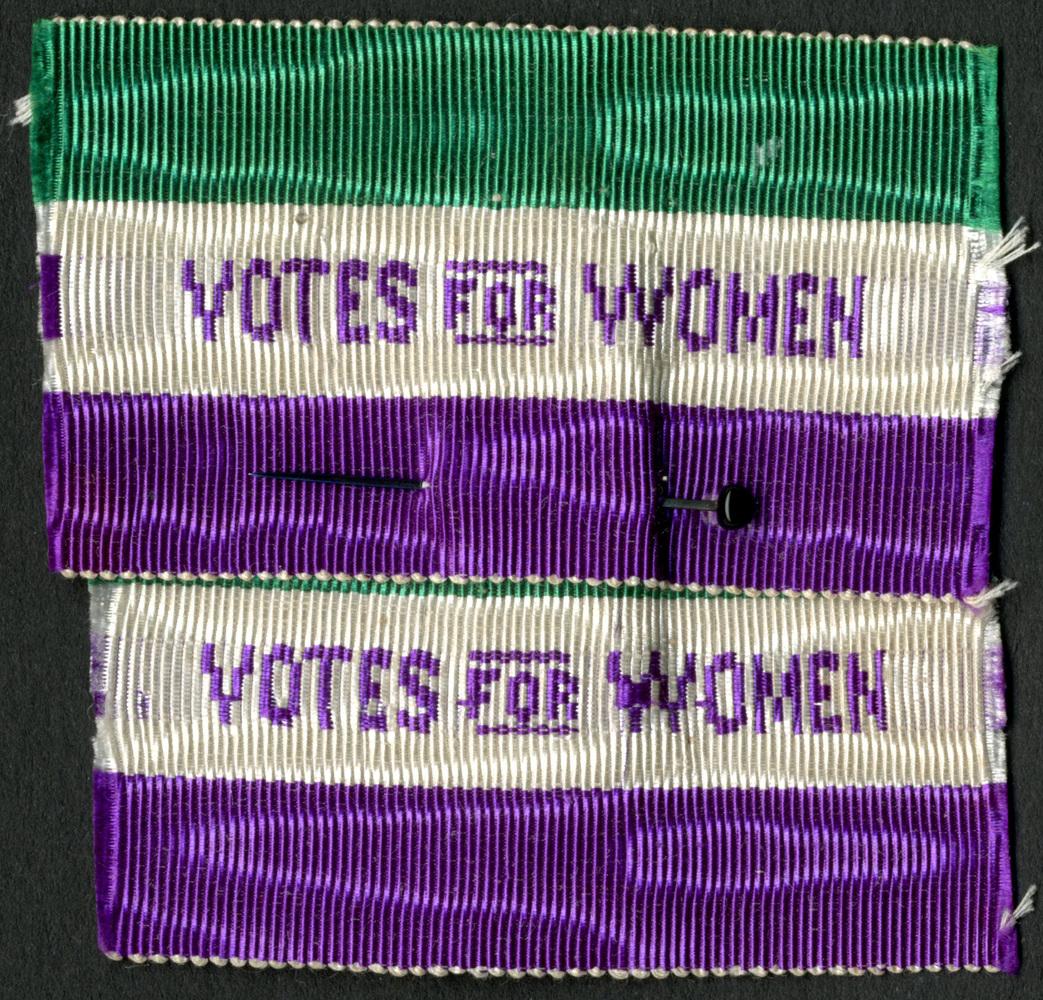 Votes for women badge