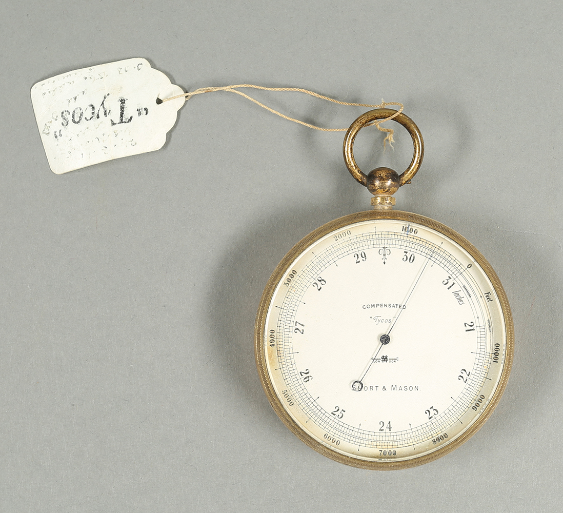 Barometer used by FitzGerald in the field at the time of the Pike's Peak expedition