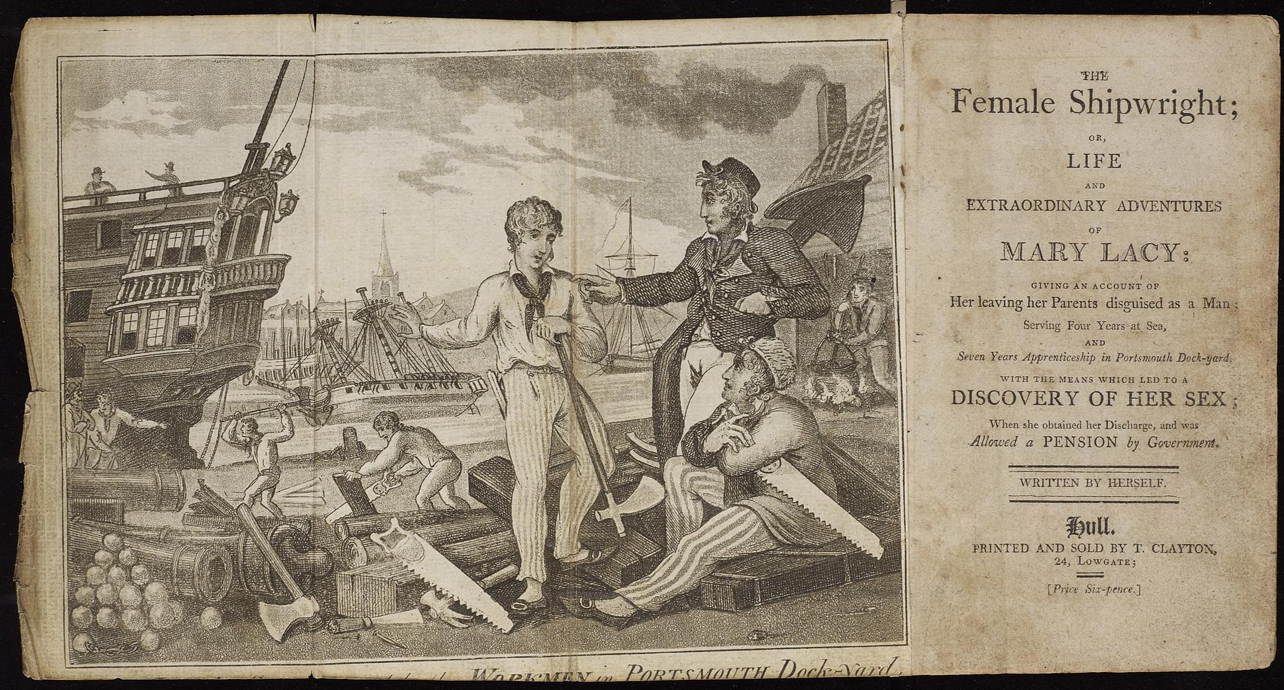 Mary Lacy, The female shipwright