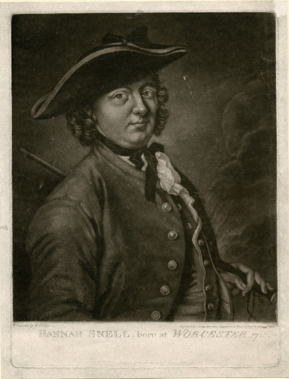 Portrait of Hannah Snell