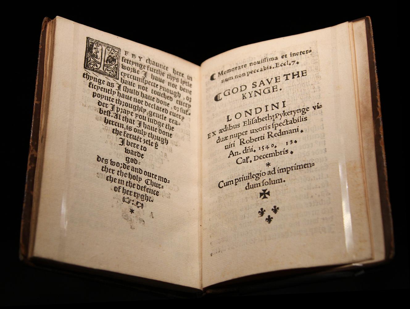 John Standish, A lytle treatyse