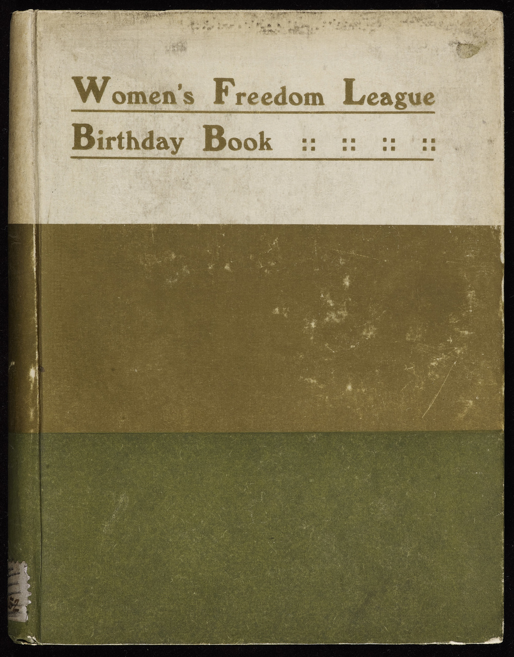 Women's Freedom League Birthday Book
