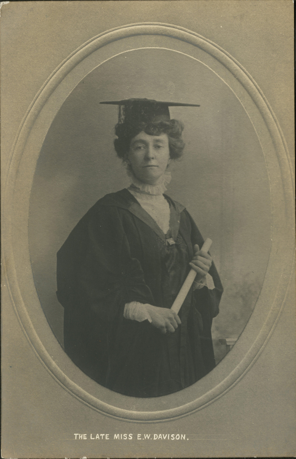 The late Miss E.W. Davison