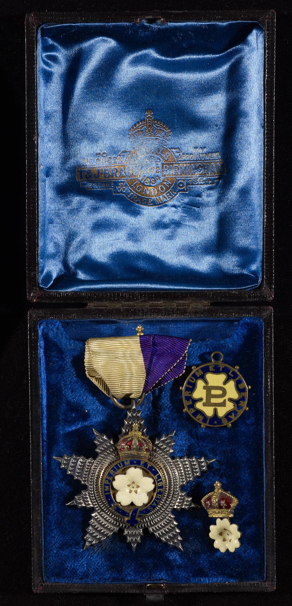 Primrose League star medal